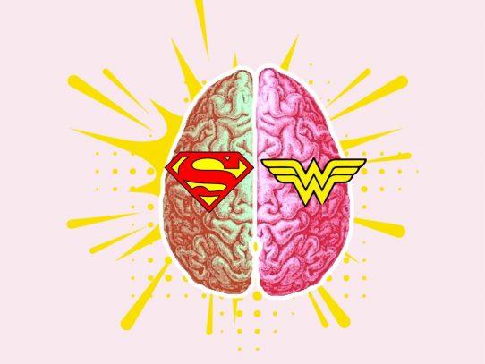 Trato igualitario, cerebros diferentes